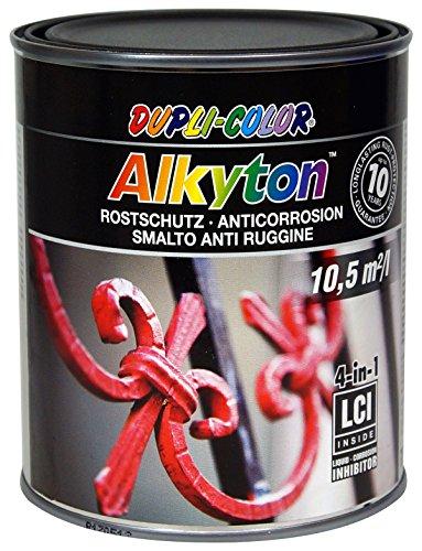 Dupli-Color 245503 ALKYTON Eisenglimmer schwarz anthrazit 750 ml, transparent