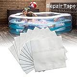 Reparaturflicken Pool Wasserdicht - 30 pcs Flickzeug Für Schlauchboote, PVC Reparatur Set Kit,...