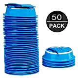 Vomit Bags for Car, 50 Pack Emesis Bags, Deep Blue Barf Bags, Disposable Motion Sickness Nausea Bags for Travel Hospital School