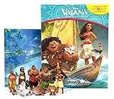 Phidal–Vaiana Coffret Libro con 12Figuras + Alfombra de Juego, 9782764341803, Multicolor
