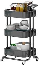 XINGDONG półka wózek plastikowy stojak na wózek domowy wózek kuchnia przechowywanie wielofunkcyjne ruchome 3 kolory trwałe...