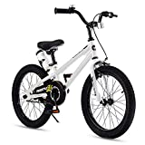 RoyalBaby Kids Bike Boys Girls Freestyle BMX Bicycle With Kickstand Gifts for Children Bikes 18 Inch...
