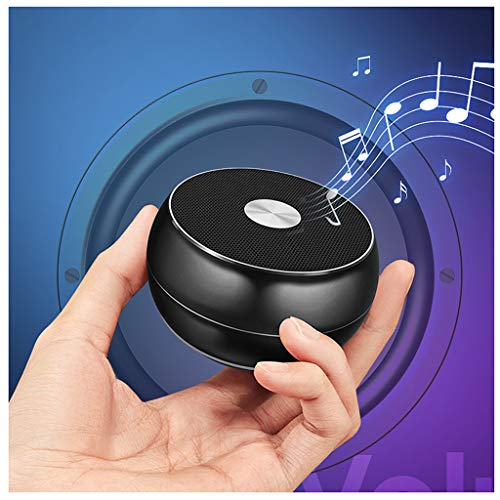 YX Altoparlante Bluetooth Intelligente Altoparlante Bluetooth Wireless Portatile 4 Ore di Durata della Batteria Suono Surround A 360 ° Supporto Bluetooth TF Card Collegamento Audio AUX Nero