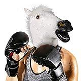 【Non tossico inodore 】- Maschera cavallo per di shrek è realizzata in lattice di gomma naturale al 100% di alta qualità. non tossico, non diffondente di odore, isolamento impermeabile, e molto realistico realistico e facile da pulire. 【Spazio interno...