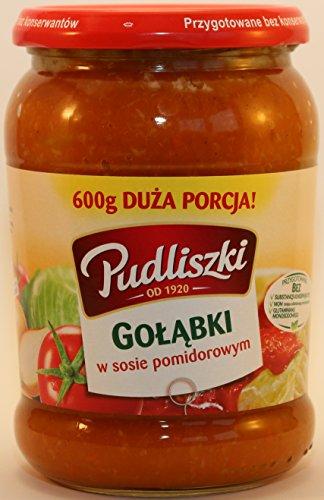 Pudliszki Kohleroulade in Tomatensauce, Golabki 600 g