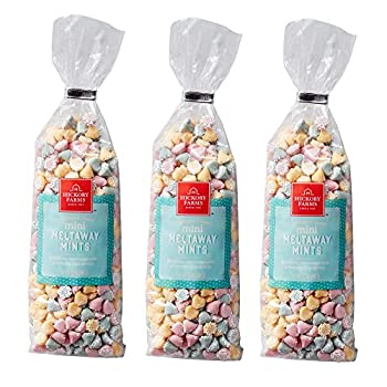 Hickory Farms Mini Melt Away Mints 12 ounce  Pack of 3
