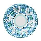 APICELLA VIETRI Piatto Fondo Azzurro CM. 23 Gallina MOD. APIC.PFONDOGAL Azzurro