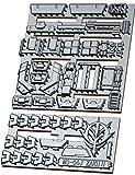 Plastic Detail Upgrade Add-On Fits Bandai Hobby MG MS-06S ZAKU Char Red/Green ZAKU Gundam 1/100 Scale Model KIT