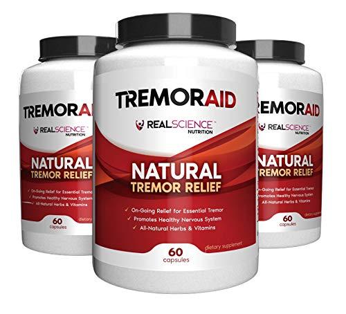 Tremoraid Essential Tremor Relief Supplements (60 Caps)* (3 Bottles)