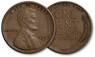 1909 VDB Lincoln Cent Fine+ to XF