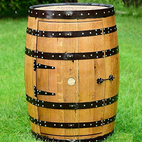 "Recyceltem massiv Eiche Whiskey Barrel Jameson ""Balmoral"" Wein Rack | Getränke Schrank"
