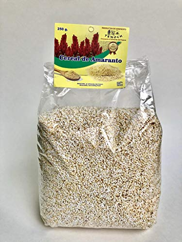 Directly from Aztec Lands (Xochimilco)! 250g Puffed Amaranth from Tenoch