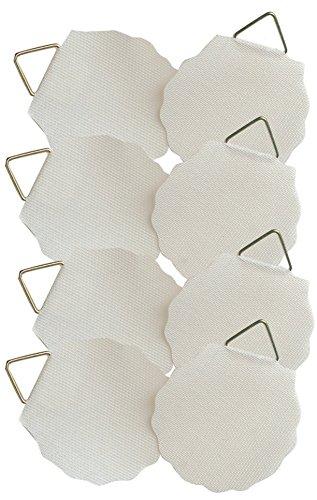 AVERY Zweckform 3732 Bildaufhänger (bis zu 0,8 kg) 8 Aufkleber weiß
