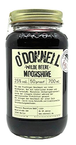 O´Donnell Moonshine Wilde Beere - limitierte Edition - Waldbeeren 0,7l 25% vol.