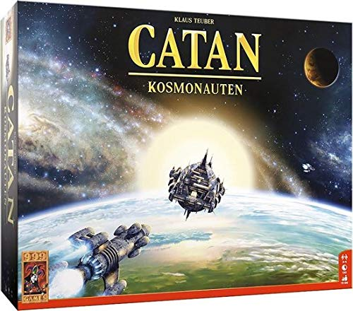 999 Games - Catan: Kosmonauten Bordspel - vanaf 12 jaar - Een van de beste spellen van 2019 - Klaus Teuber - Modular board - voor 3 tot 4 spelers - 999-KOL50