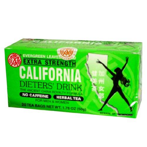 36pk - California Tea - Dieters Drink - 20 bags