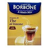 16 Capsule Caffè Borbone the al limone compatibili A Modo Mio ®