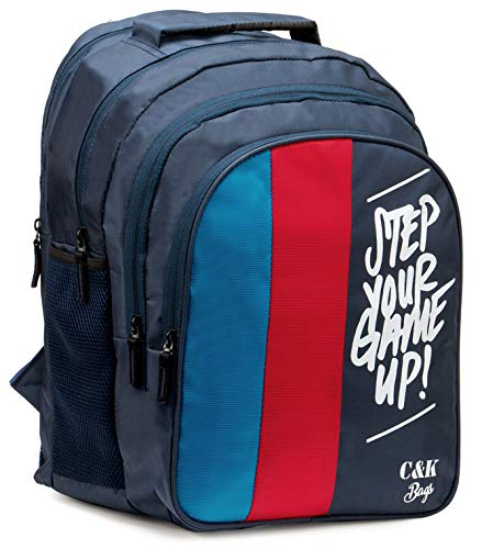 Chris & Kate Big 42 litres Comfortable Blue-Red Casual...
