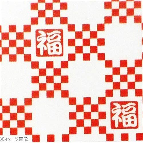 和風デザインWAXペーパー 100枚入 スタンダード 赤桝 PG-682 4852100