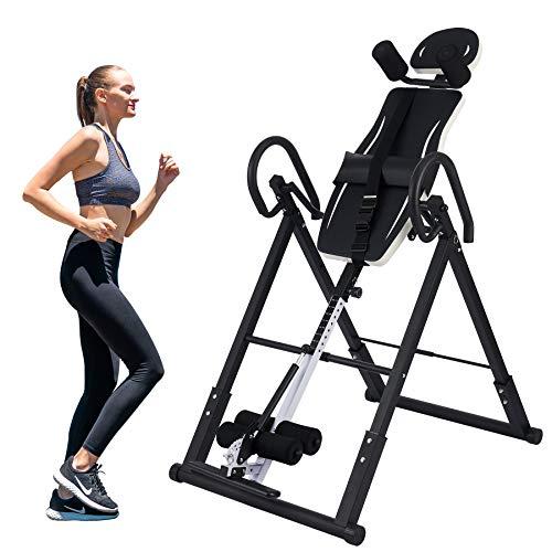 Z ZELUS Tabla de Inversión Plegable para Fitness en Casa Tabla de...