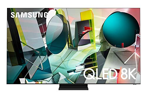 SAMSUNG 75-inch Class QLED Q900T Series - Real 8K Resolution Direct Full Array 32X Quantum HDR 32X Smart TV with Alexa Built-in (QN75Q900TSFXZA, 2020 Model)