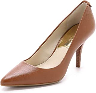 Michael Michael Kors Womens Mk Flex Leather Pointed Toe Classic Pumps