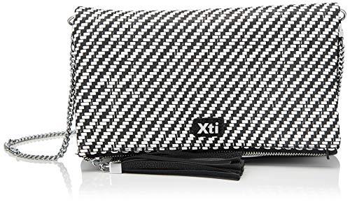 XTI XTI86287DonnaBorsa MessengerNero (Nero) 26x18x2 Centimeters (W x H x L)