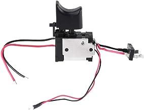 Interruptor de activación de taladro-7.2 V - Batería de litio de 24 V Interruptor de activación de control de velocidad de perforación sin cable con luz pequeña