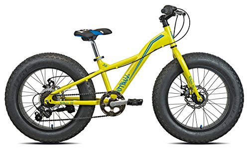 Torpado Fat Bike Pit Bull 20'' staal 6v geel (bambin) / Bicycle Fat Bike Pit Bull 20'' staal 6v geel (kid)