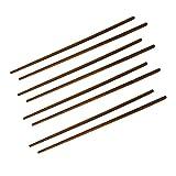 Sourcingmap® Set cadeau 4paires de baguette en bois Style Japonais