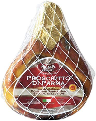 Italian Prosciutto di Parma Red Label D O P Boneless Whole Leg Aged 16 Months 16 Pounds Approx product image