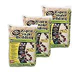 Zoo Med (Pack of 3) Aspen Snake Bedding, 24 Quarts