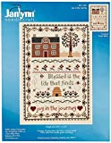 Janlynn Joy in The Journey Counted Cross Stitch Kit, 7-3/4 by 11-1/4-Inch, 14 Count