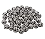 Chocolate Soccer Balls - 5 LB Resealable Stand Up Bulk Candy Bag (approx. 400 pieces) - Individually Wrapped Mini Chocolate Balls - American Soccer Themed Novelty Candy