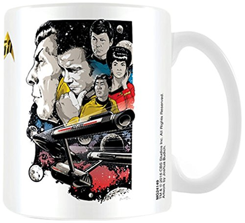 Pyramid International ! MG24149 Star Trek - BOLDLY GO 50th Anniversary : MUG