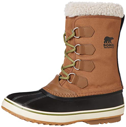 Sorel 1964 Pac Nylon, Botas Hombre, Marrón (Nutmeg, Black 260Nutmeg, Black 260), 41 EU