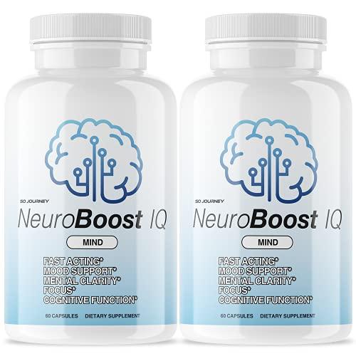 (2 Pack) Neuro Boost IQ Brain Supplement (120 Capsules)