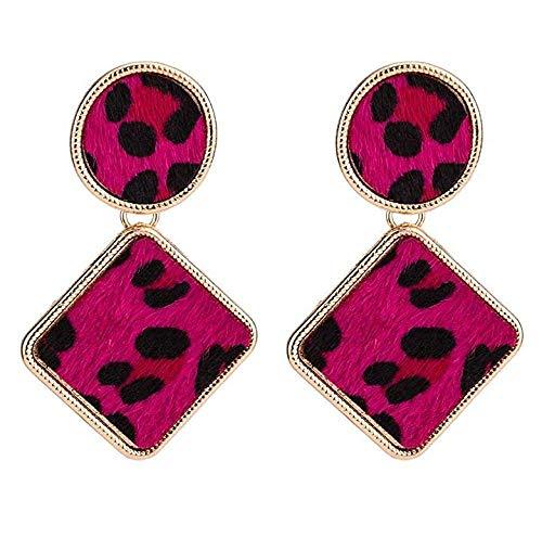 RONGW JKUNYU Novelty Stud Earrings Girls' Earrings Vintage earrings for women geometric statement Earrings trendy square earings jewelry party accessorie, Gifts