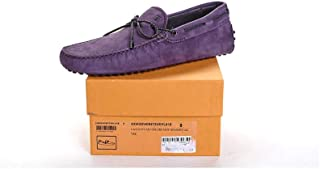 Men's BlackBerry Gommino Suede Driving Shoes