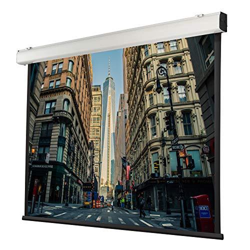 celexon motorizada Home Cinema y presentación proyector-Pantalla eléctrica de Pared o Techo Motor Expert XL - 400 x 300 cm - 4:3