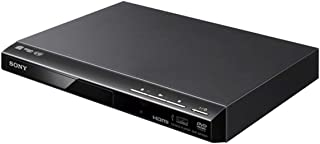 Sony DVD Player with USB Play, Remote and HDMI Output, DVP-SR760 - Black