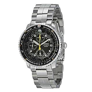 Seiko Men's SNA411 Flight Alarm Chronograph Watch (B00068TJM6) | Amazon price tracker / tracking, Amazon price history charts, Amazon price watches, Amazon price drop alerts