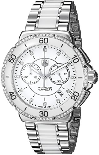 TAG Heuer Women's CAH1213.BA0863 'Formula One' Stainless Steel Watch with Diamonds