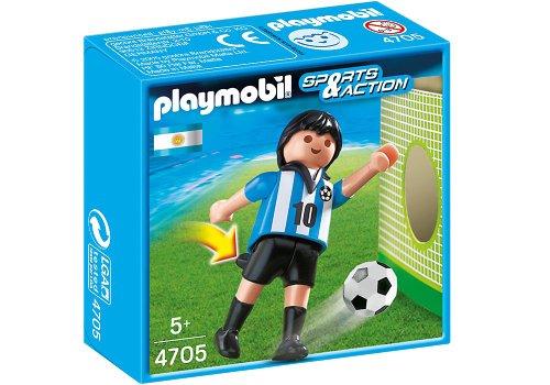 Playmobil Fútbol: Jugador Argentina  4705