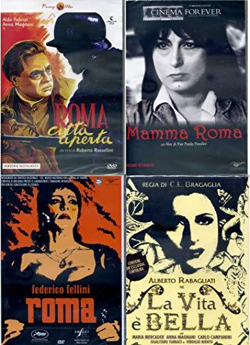 ANNA MAGNANI COLLECTION , roma città aperta, la vita è bella, mamma roma , roma