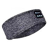 Diadema para dormir con Bluetooth, ideal para deportes, gimnasio, yoga, sueño, insomnio, viaje, meditación, relajación con
