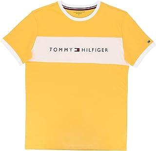[トミーヒルフィガー]コットン ロゴ 半袖 Tシャツ