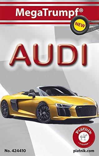 Piatnik 4244 - Quartett MegaTrumpf - Audi, Kartenspiel