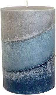 Wicks N More Indigo Mist Handmade Pillar Candles (3x4)