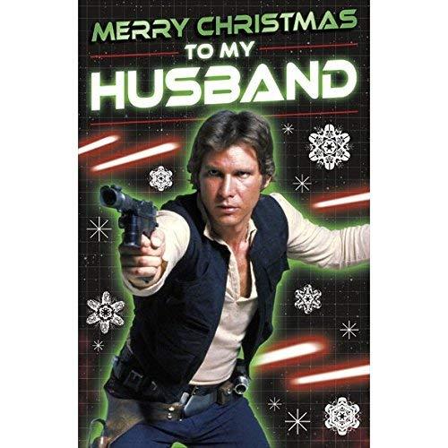 Star Wars Weihnachtskarte für Ehemann